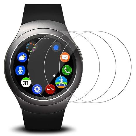 Films de Protection dEcran pour Samsung Gear S2 Montre Connectée, AFUNTA Protecteur de