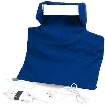 Mobiclinic | Almohadilla eléctrica nuco-cervical | Manta eléctrica para nuca, espalda y piernas | Adiós a los dolores y contracturas en las cervicales ...