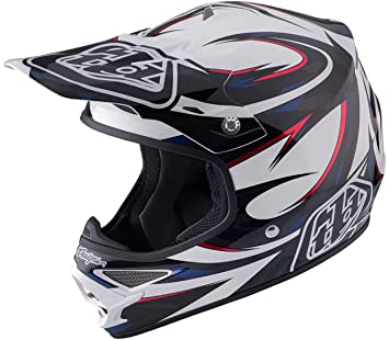 Troy Lee Designs Casco Mx 2017 Air Vortex Blanco (S, Blanco)