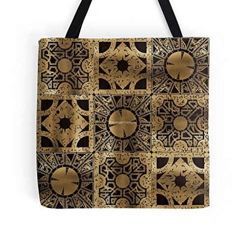 Hellraiser Tote Bag, Lament Configuration Spread, 3 Sizes Available
