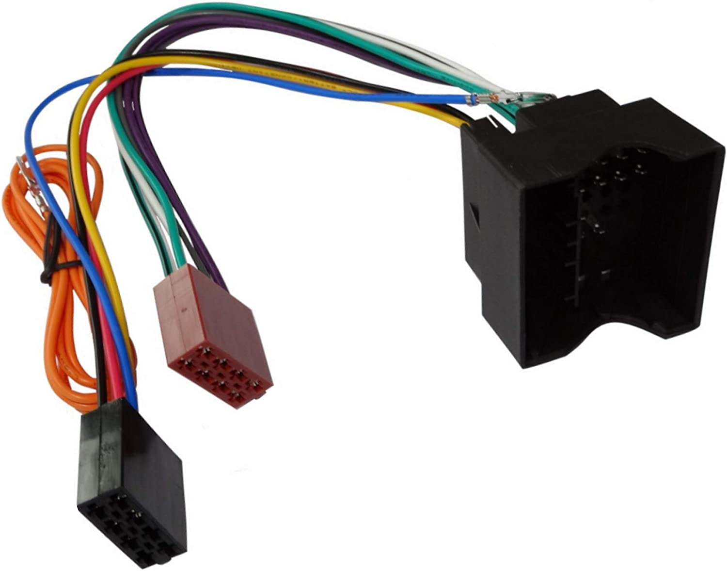 Iso G1 Car Radio Converter Cable For Peugeot Citroën Auto