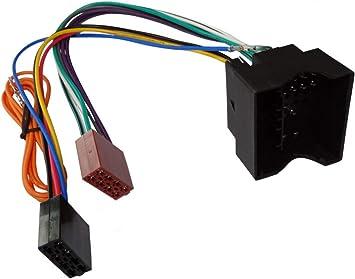 Aerzetix C2059 Adapter Kabel Radioadapter Radio Kabel Stecker Iso Kabel Verbindungs Auto