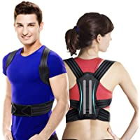 VOKKA Posture Corrector for Men and Women, Spine and Back Support, Providing Pain Relief for Neck, Back, Shoulders…