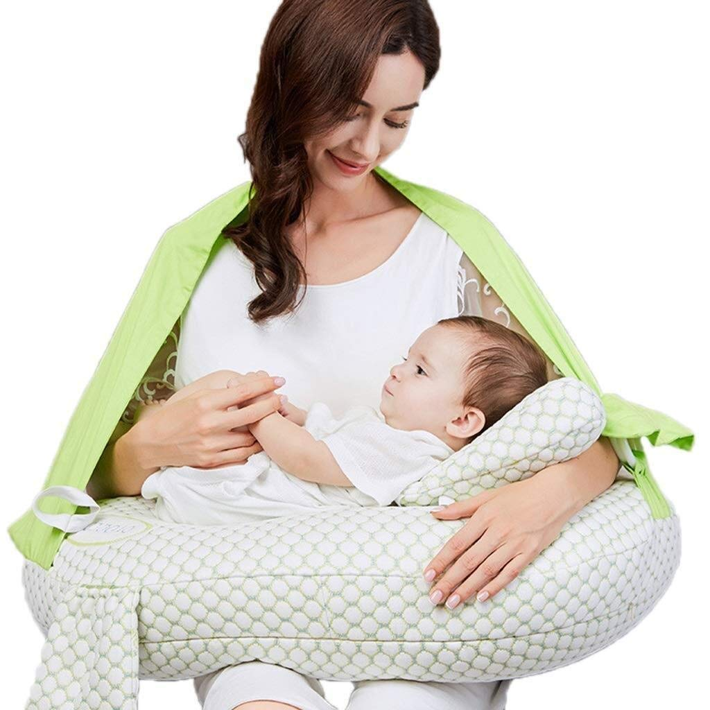 Wyyggnb Nursing Pillow,Breastfeeding Pillows Nursing Pillow Nursing Breast P Four Seasons Available/Safe Health Baby Pillow Safety Fence Styling Pillow Breastfeeding (Color : B) by Wyyggnb
