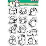 Penny Black Cat Days Clear Unmounted Rubber Stamp Set (30-407)