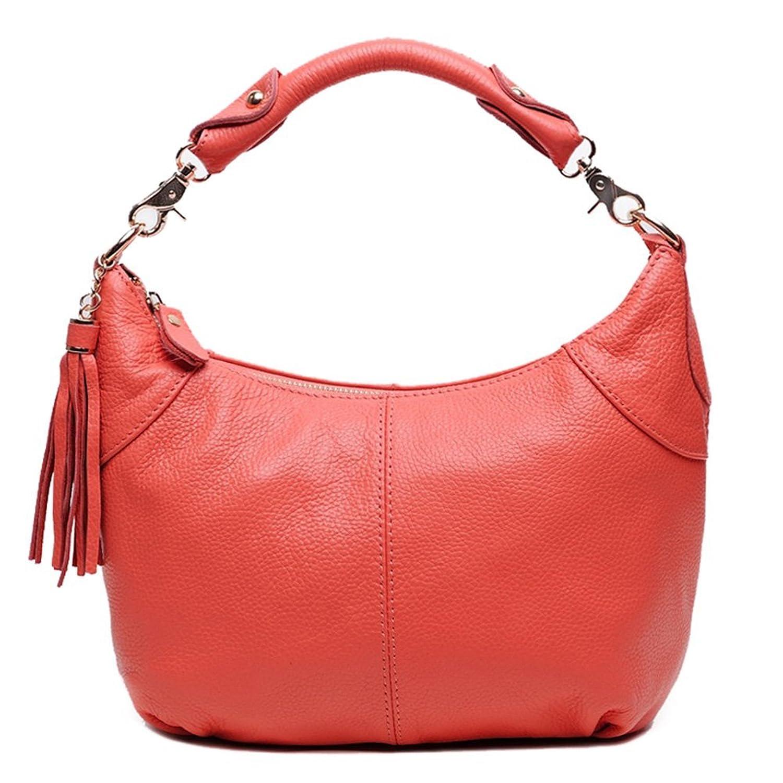 Dethan Ladies Genuine Leather Top Handle Handbag Cross Body Shoulder Small Bag