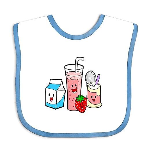 Amazon com: Baby Bandana Drool Bibs Healthy Food Cartoon