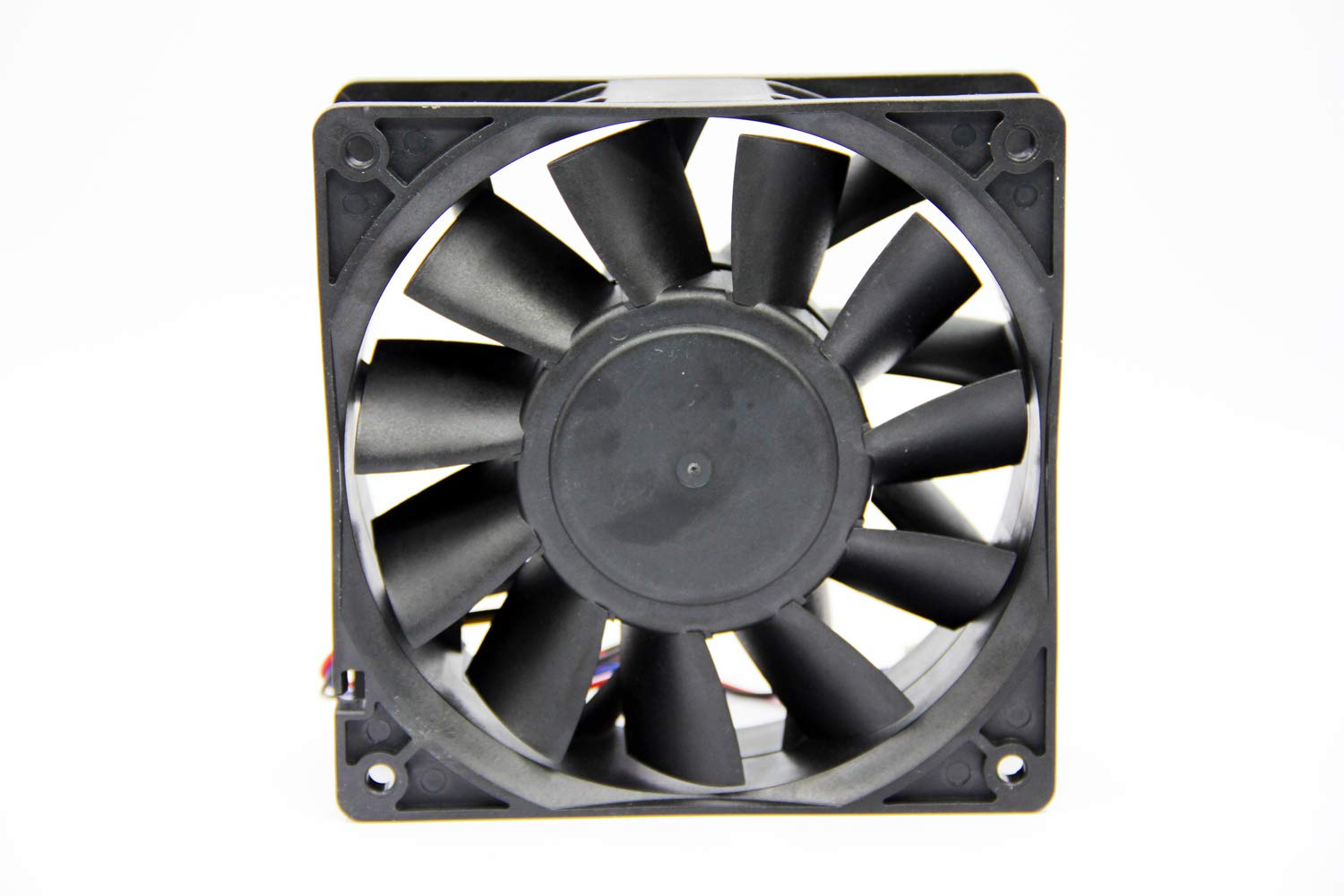 59dBA,Dual Ball Bearing 3-Wire 3-Pin Connector Asia New Power New FFB1212EHE 120x120x38mm PWM Case Cooling Fan,190CFM,4000RPM