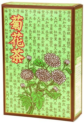 菊花茶5g×32パック 黄菊の花100% 煮出し用ティーバッグ