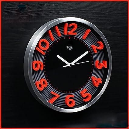 toym-the salón sordina Creative Fashion relojes personalizados 3d estereoscópico reloj digital reloj de pared