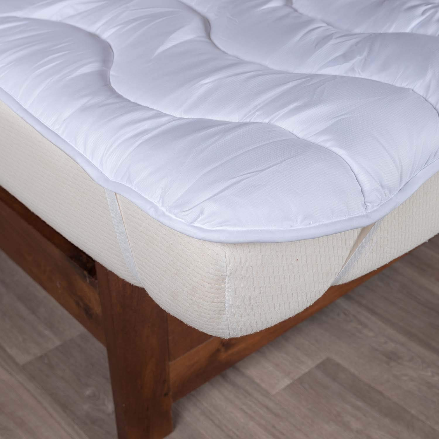 Homescapes Soft New Whole White Goose Feather Bed Double 7cm