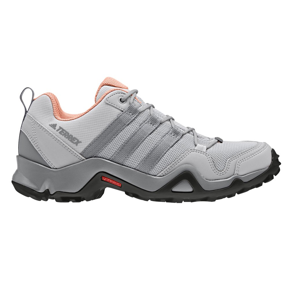 adidas Women Terrex AX2R Hiking Shoes, Black/Tactile Pink Grey Two 6