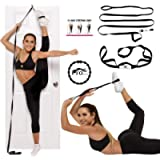 Stunt Stand Door Flexibility & Stretching Leg Strap - Great for Cheer, Dance, Gymnastics or Any Sport! Free How-to-Use…