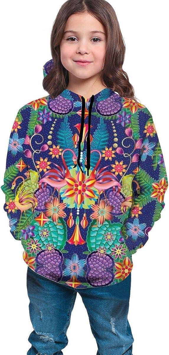 Teen Pullover Hoodies with Pocket Head Design Abstract Soft Fleece Hooded Sweatshirt for Youth Teens Kids Boys Girls