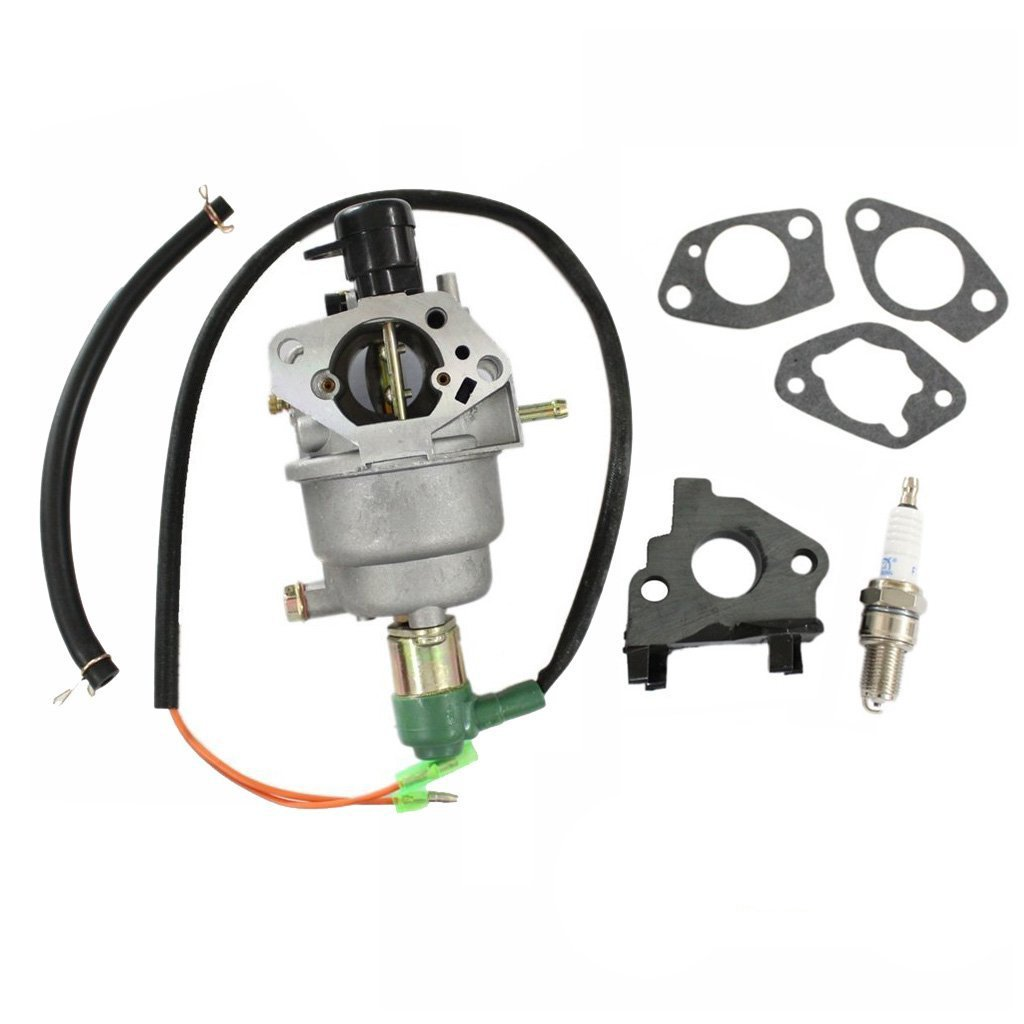 Huri Carburetor With Gasket Spark Plug For Cummins Onan Prime Genset Pr6500cl 5000watt Homesite Power 6500 Generator Engine Garden Outdoor