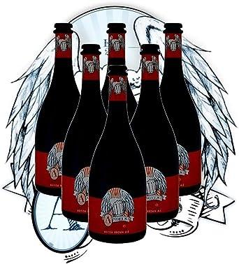 Cervezas Artesanas Latarce | Cervezas Angels By Latarce | Caja 6 Cervezas Artesanas British Brown Ale | Formato Botellas 75 cl | Ideal para regalo | Cerveza Artesana | Cervezas Artesanas: Amazon.es: Alimentación y bebidas