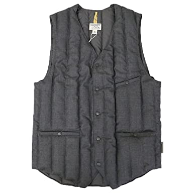 Down Gillet: Grey