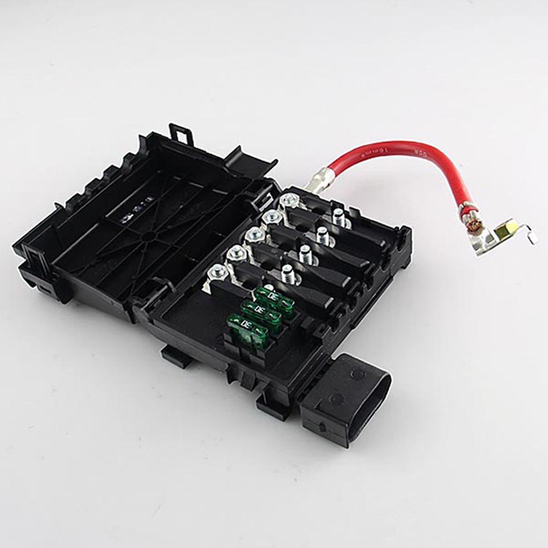 Fuse Box Battery Terminal Fit For Vw Jetta Golf Mk4 98 Beetle 20 19tdi 1j0937617d Car Electronics