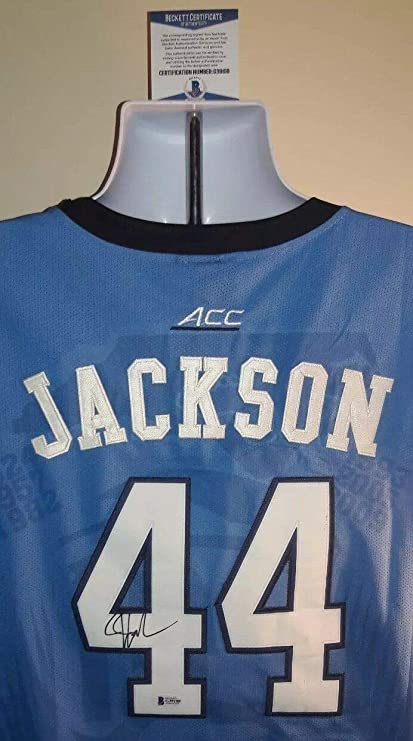the latest a95da d5b62 Justin Jackson North Carolina Tar Heels Autographed Signed ...