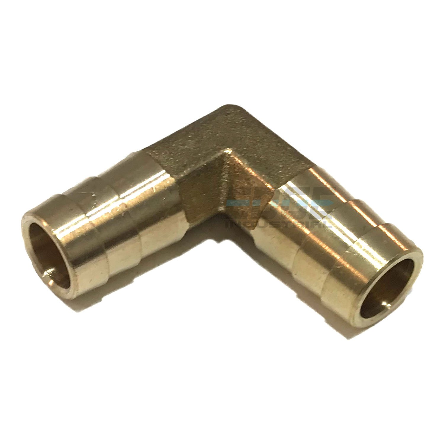 EDGE INDUSTRIAL 1//2 Hose ID 90 Degree Brass Elbow Union Fitting Fuel//AIR Gas//WOG Water//Oil