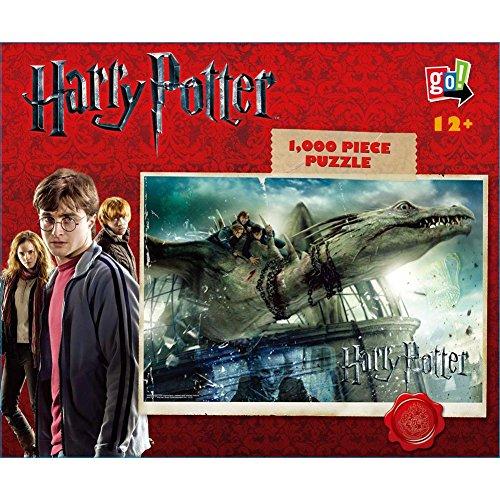 Go Games Harry Potter Escape from Gringotts 1000 Piece Puzzle