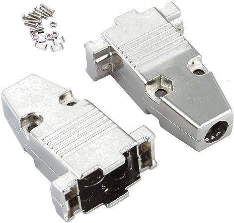 Quest DSH-5409 Metal Connector Hood for DB-9 /& DE-15 Connectors