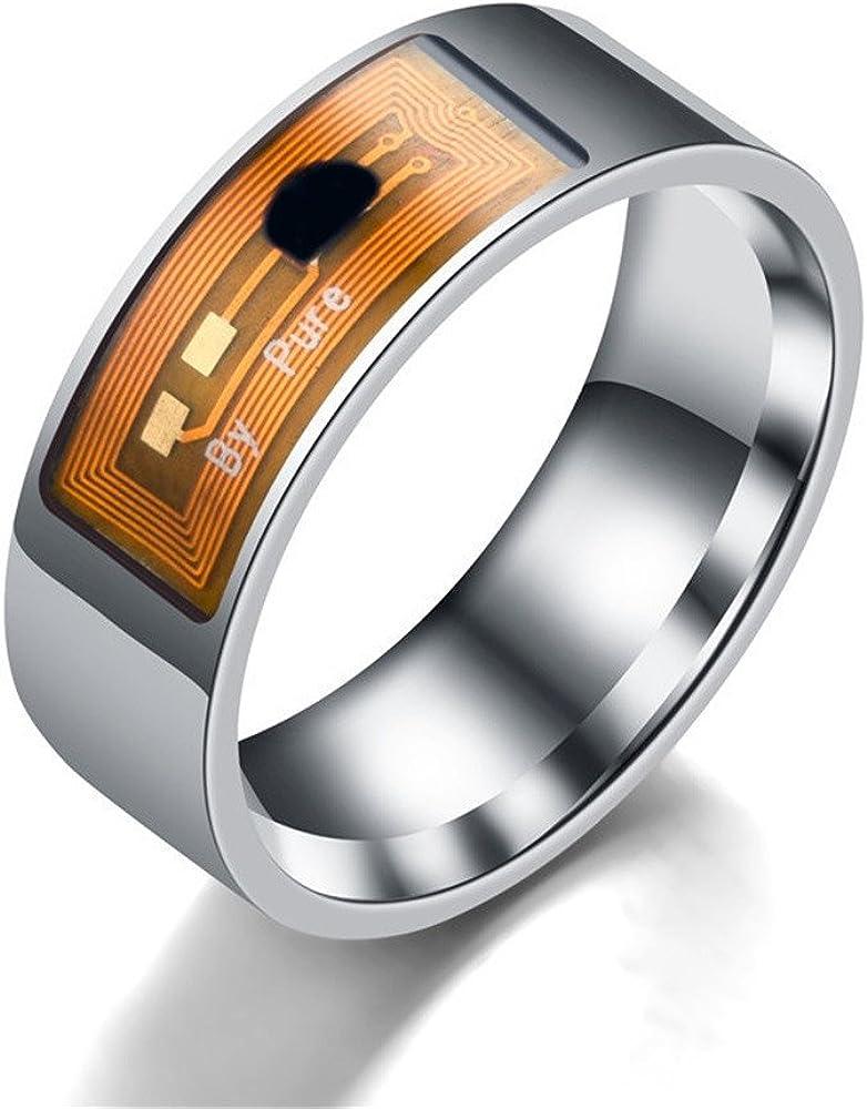 Colorful NFC Multifunktionale Wasserdichte Intelligente Ring Smart Wear Finger Digital Ring TM