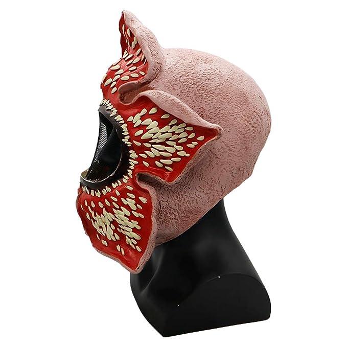 JUZIPI Máscara de Disfraz de Stranger Deluxe Demogorgon Things ...