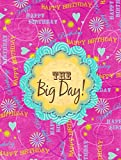Cheap Caroline's Treasures SB3002CHF Happy Birthday The Big Day Pink Canvas House Flag, Large, Multicolor
