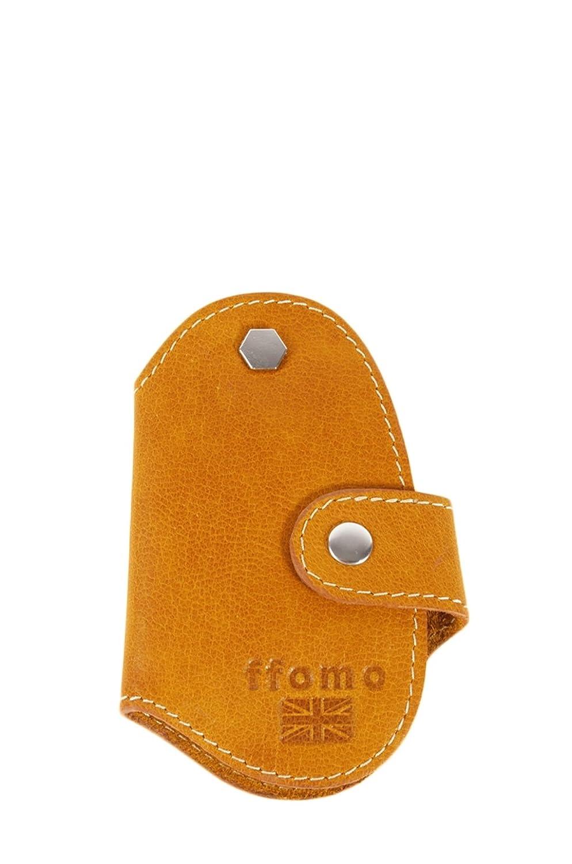 FFOMO Real Goat Tan Leather Handmade Unisex Key Holder