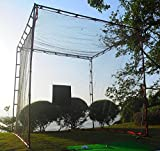 ProAdvanced MasterCage Practice Cage with Hitting Target, 10 x 10-Feet