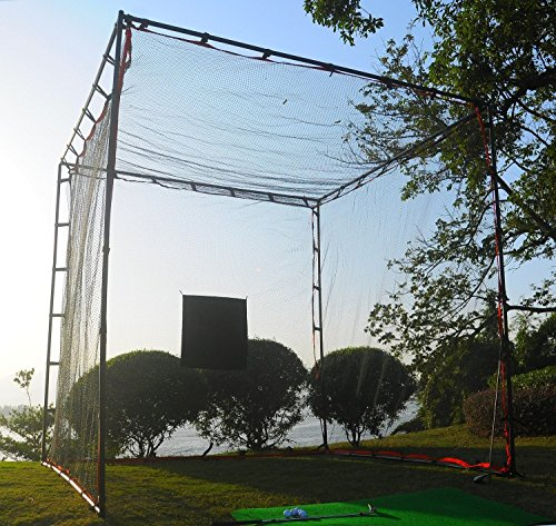 ProAdvanced MasterCage Practice Cage with Hitting Target, 10 x ()
