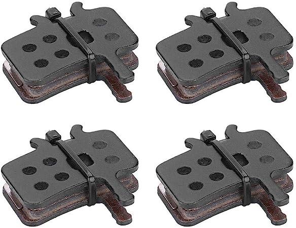 Resin Semi Metal Bicycle Brake Pads for BB7 J5 J3 VGEBY 4Pairs Bike Disc Brake Pads J7