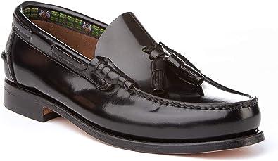 Mocasines con borlas para Hombre. Zapatos Castellanos Fabricados ...