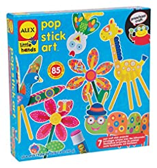 ALEX Toys Little Hands Pop Stick Art Cra...