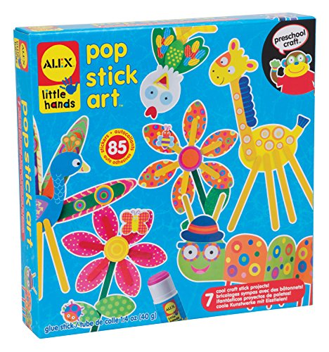 (ALEX Toys Little Hands Pop Stick Art Craft Kit)