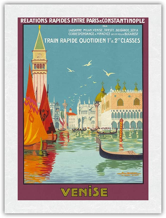 Venice Venise Italy - Venetian Train Daily Canal Popular products Fast Sale special price Grand