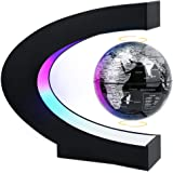MOKOQI Magnetic Levitating Globe with LED Light, Cool Tech Gift for Men Father Boys, Birthday Gifts for Kids, Floating…