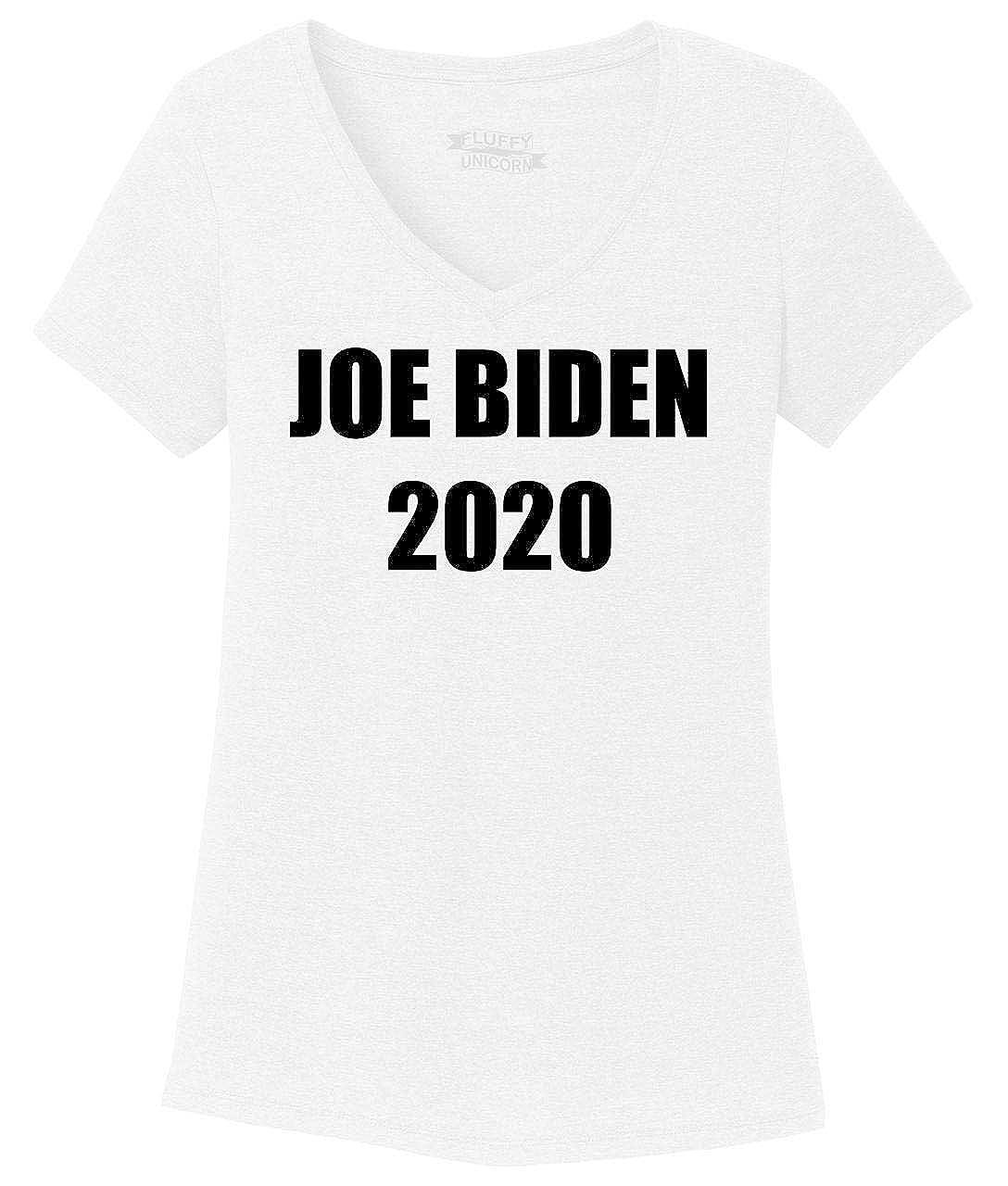 Comical Shirt Ladies Joe Biden 2020 Triblend V-Neck
