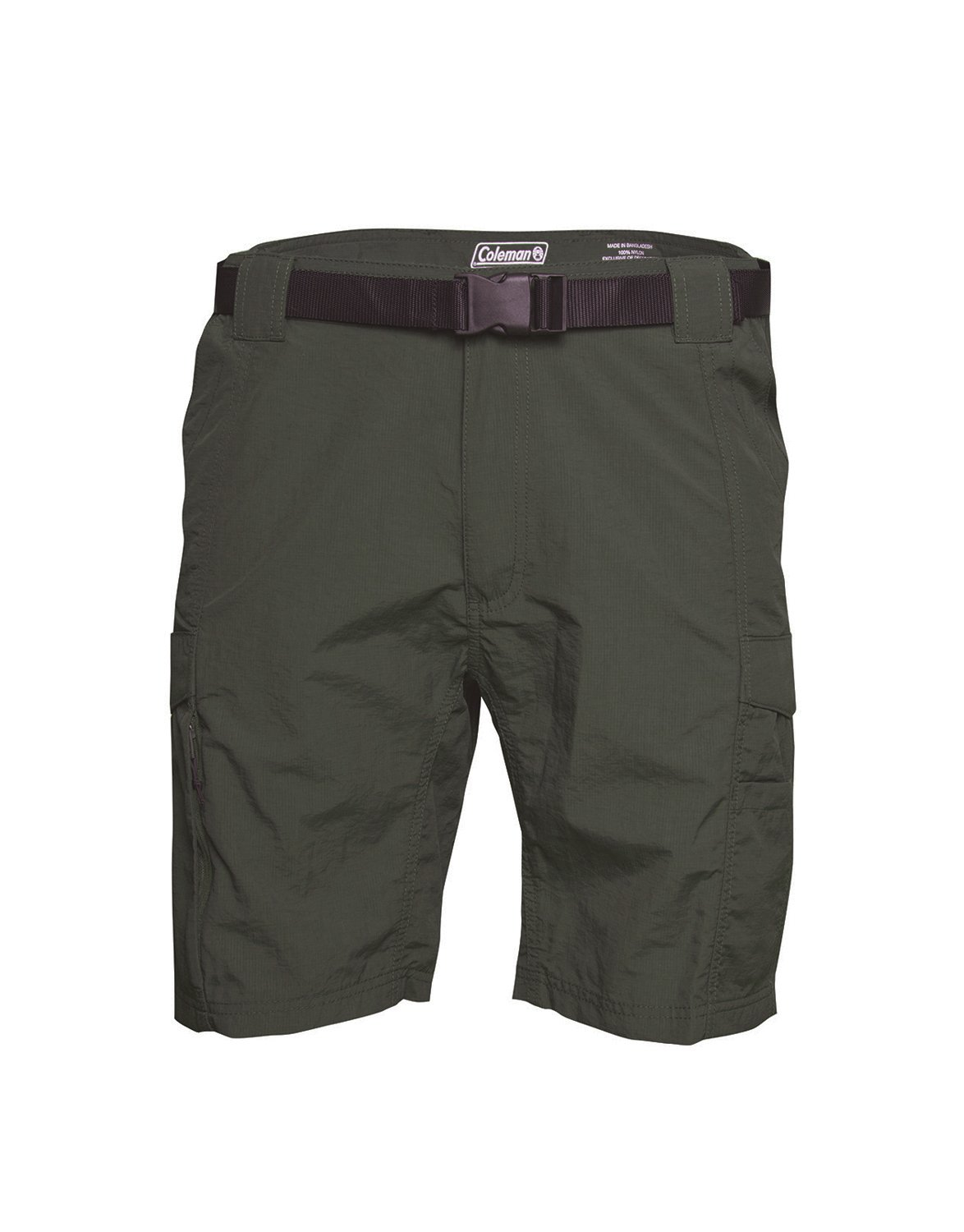Coleman Men's Hiking Cargo Shorts with Belt Ideal for Inclement Weather 1248