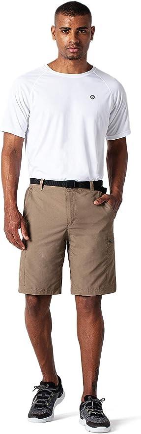 NAVISKIN Pantalones Cortos de Pesca UPF 50 para Hombre Outdoor Shorts de Senderismo Acampada Campismo Marcha Ligero Secado R/ápido