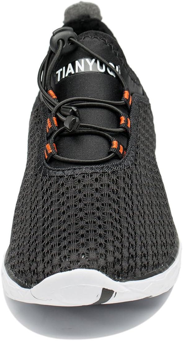 TIANYUQI Womens Mesh Slip On Water Shoes