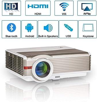 WXGA HD LCD Proyector de Video Bluetooth: Amazon.es: Electrónica