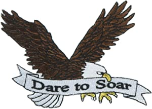 Patch for Eagle Scouts: Dare to Soar - Motivational Eagle Patch for Scouts