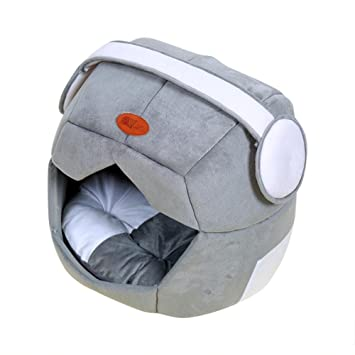 SinceY caseta para Perro, Alfombra de caseta de Doble Uso Innovant Teddy Dog Kennel Nido de Gato Nido de Gato aéré: Amazon.es: Productos para mascotas