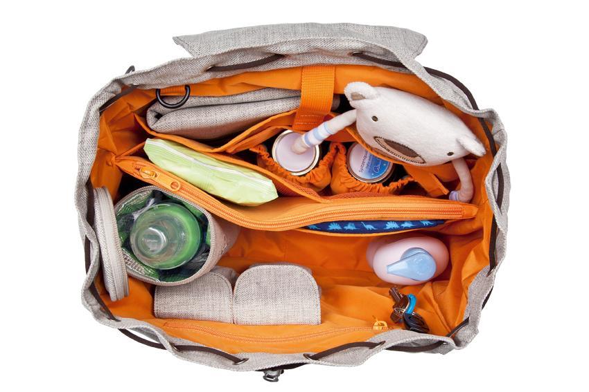 l ssig lbp60101 wickelrucksack green label backpack. Black Bedroom Furniture Sets. Home Design Ideas