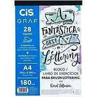 Bloco Exercicios Lettering Karol Stefanini A4 180G 28F