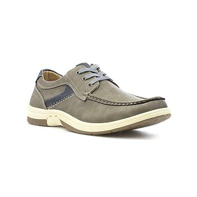 Dr Keller Beiläufiger Schuh im Grau mit Spitzeen für Männer durch Größe 10 UK/44.5 EU - Grau 8aoqs