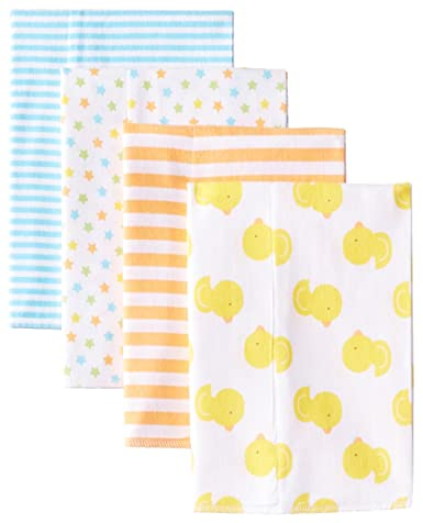Gerber Baby Newborn Flannel Burp Cloths, Top Burp Cloths