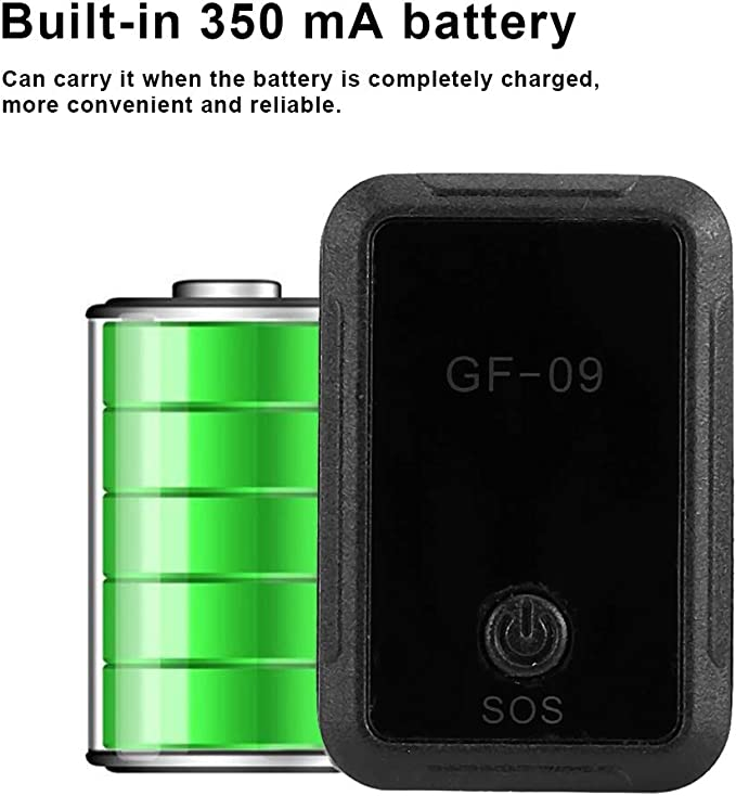 Tosuny GF-07 GPS Tracker Strong Magnetic Car GPS Locator 150mA Vehicle Car Truck Positioning Real Time Device Positioning Anti Theft GSM GPRS Locator